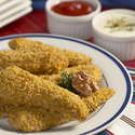 Crunchy Walnut-Coated Chicken Strips