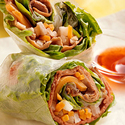 Vietnamese Beef & Vegetable Spring Rolls
