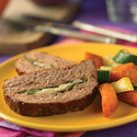 Poblano-Stuffed Meatloaf
